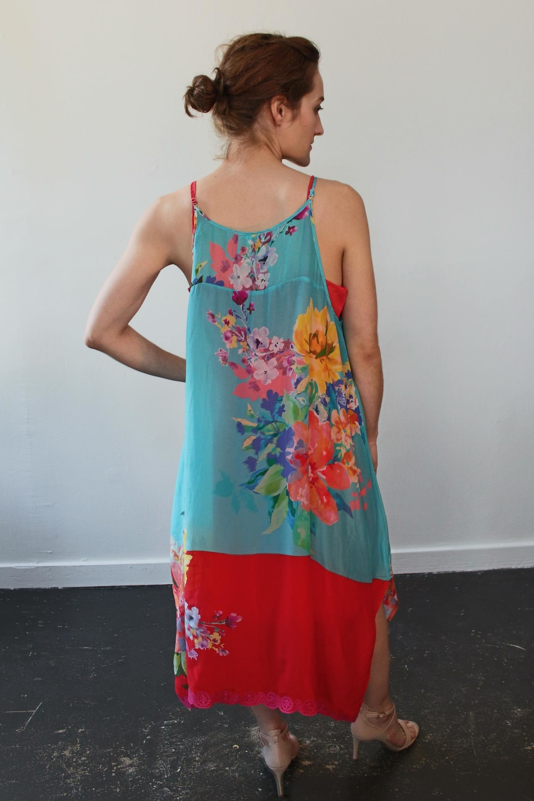 Johnny Was Lomi Tank Dress - Front Full Image