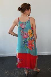 Johnny Was Lomi Tank Dress - Front full body