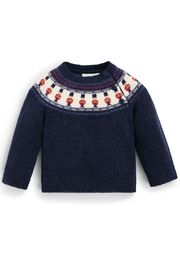 JoJo Maman Bebe London Cashmere-Blend Sweater - Front cropped