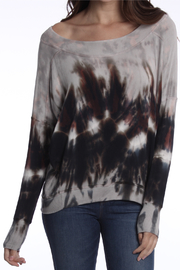 River + Sky  London Patina Tie Dye  Sweatshirt - Product Mini Image