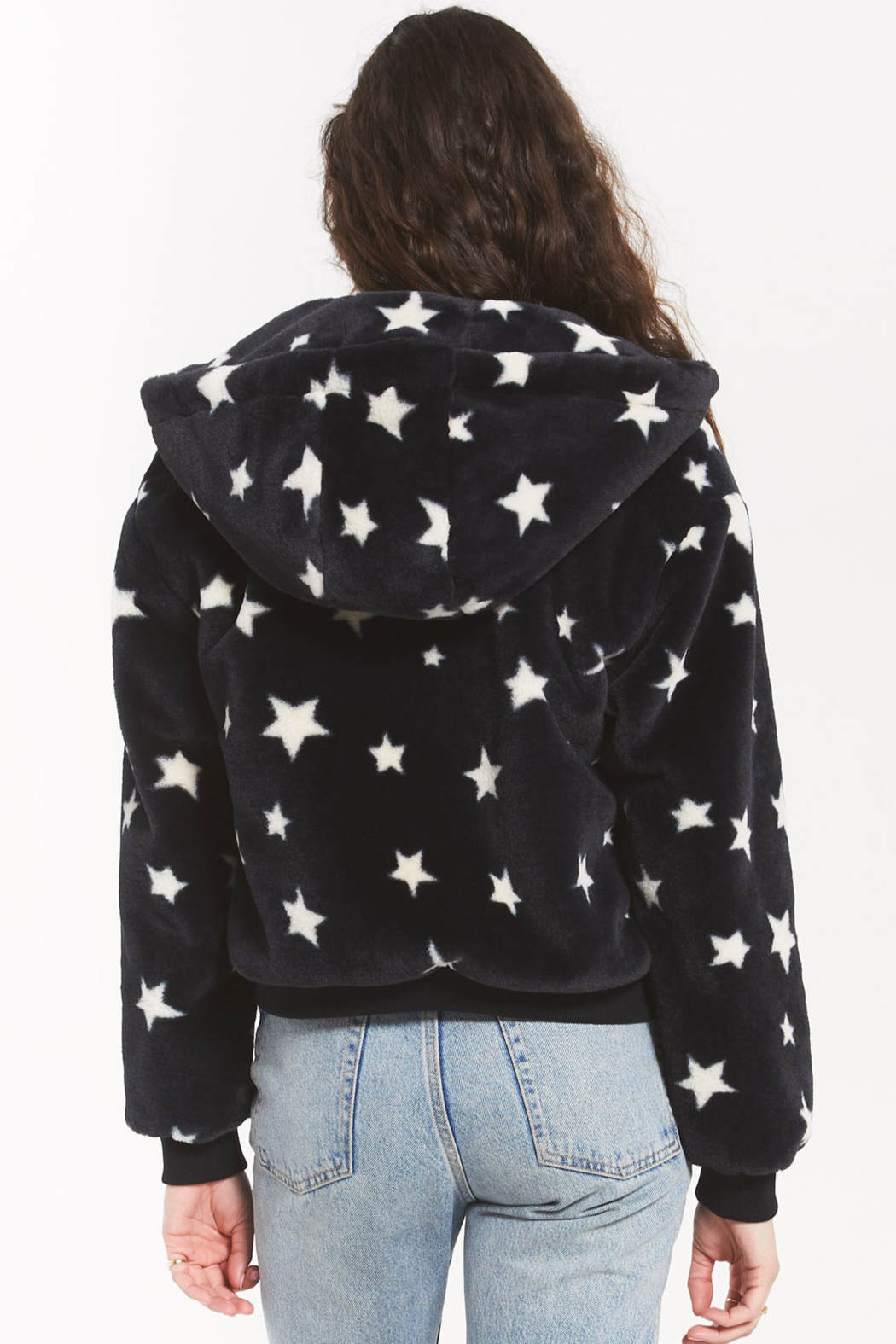 z supply London Star Jacket - Side Cropped Image