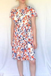 London Times Floral Printed Dress - Front cropped