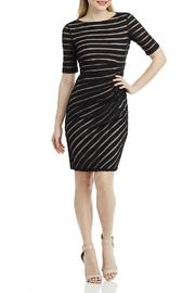 London Times Ruched Sheath Dress - Product Mini Image