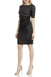 London Times Ruched Sheath Dress - Front full body