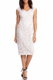London Times Sleeveless Lace Dress - Product Mini Image