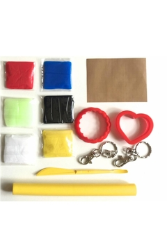 Shoptiques Product: Nutty Putty Key Rings