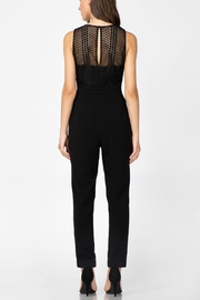 Adelyn Rae Londyn Lace Jumpsuit - Front full body