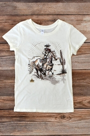 Tasha Polizzi Lone Rider Tee - Front cropped