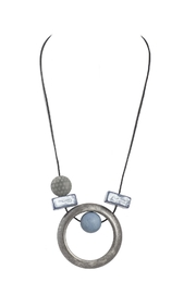 Alisha D Long Abstract Necklace - Product Mini Image