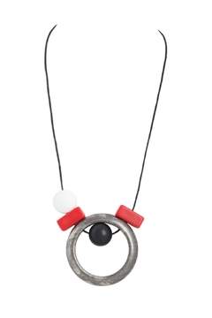 Alisha D Long Abstract Necklace - Alternate List Image