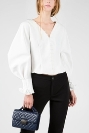 BEULAH STYLE Long-Balloon Sleeved Shirt - Product Mini Image