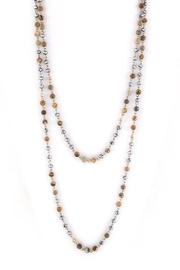 Wild Lilies Jewelry  Long Beaded Necklace - Product Mini Image