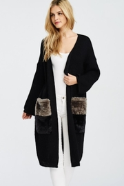 TIMELESS Long Cardigan - Front cropped
