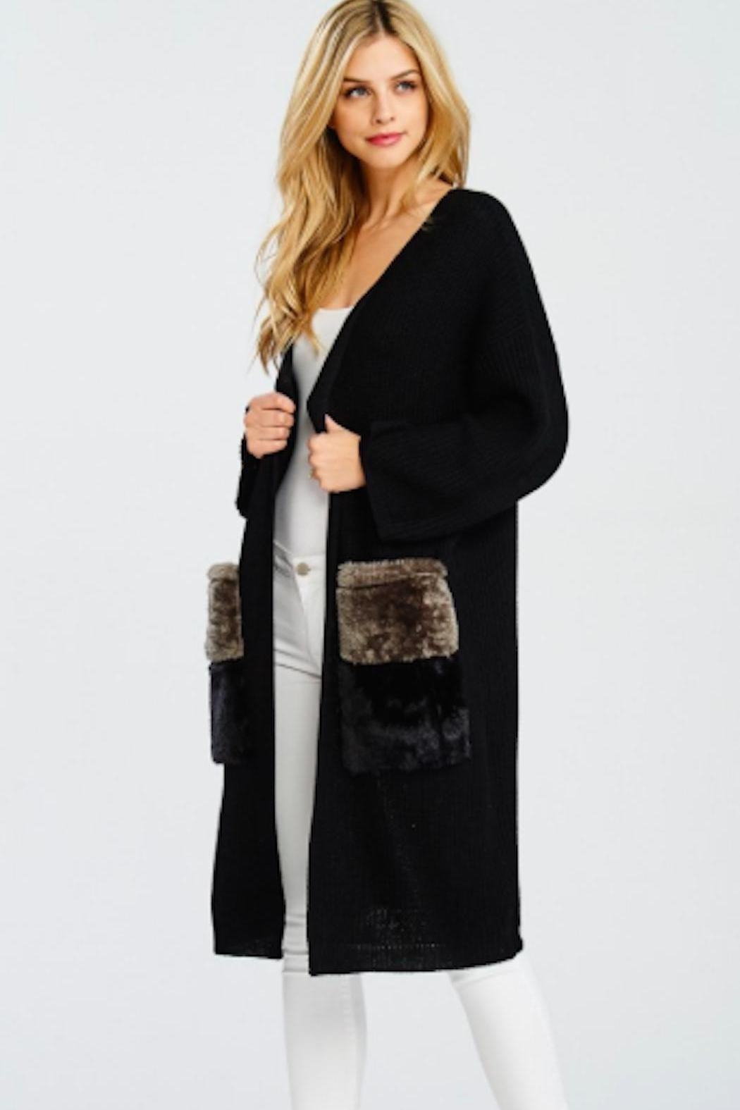 TIMELESS Long Cardigan - Front Full Image