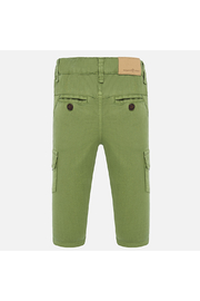 Mayoral Long Cargo Pants - Front full body