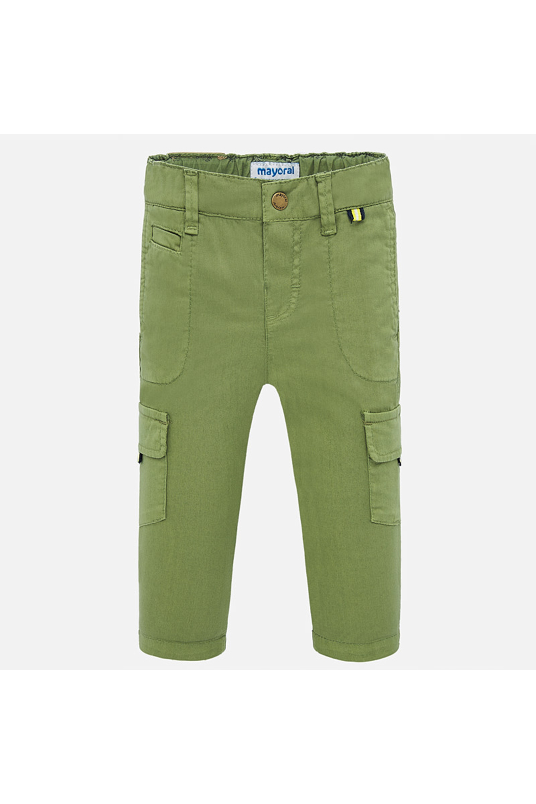 Mayoral Long Cargo Pants - Front Cropped Image