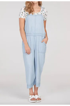 Shoptiques Product: Long Chambray Jumper/Overall