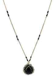 Ananda Chicago  Long Crystals Necklace - Front cropped