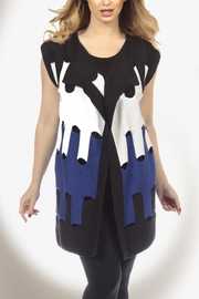 Angel Apparel Long Cut Out Graphic Vest - Product Mini Image