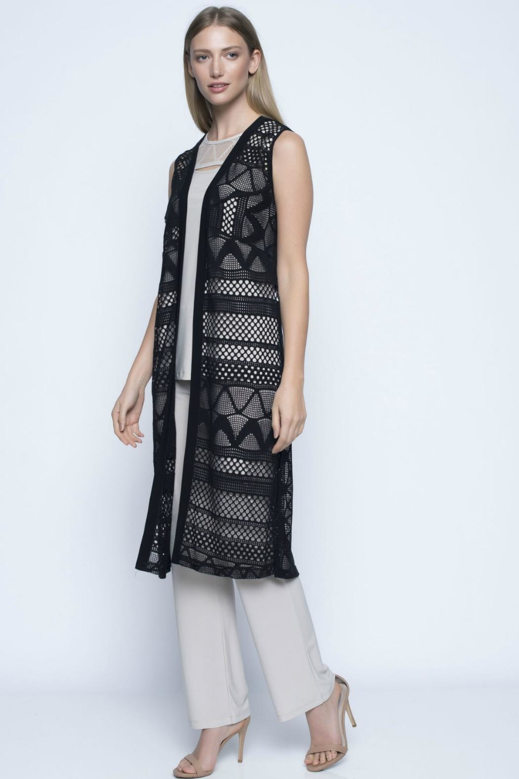 Picadilly Long Cut-Out Vest - Main Image