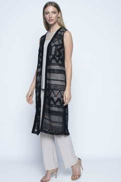 Picadilly Long Cut-Out Vest - Alternate List Image
