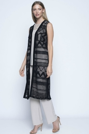 Picadilly Long Cut-Out Vest - Front cropped