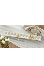 Mud Pie Long Deviled Egg-Tray-Set - Side cropped