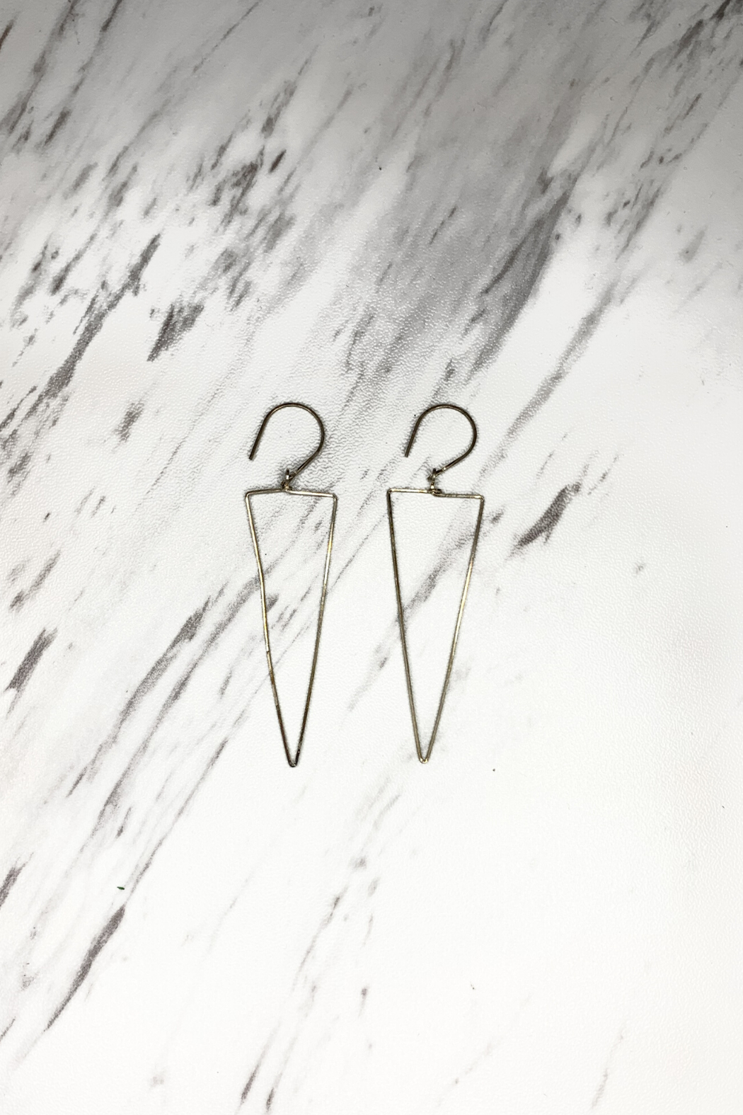By Philippe Long Drop Earrings Gold Filled - Main Image