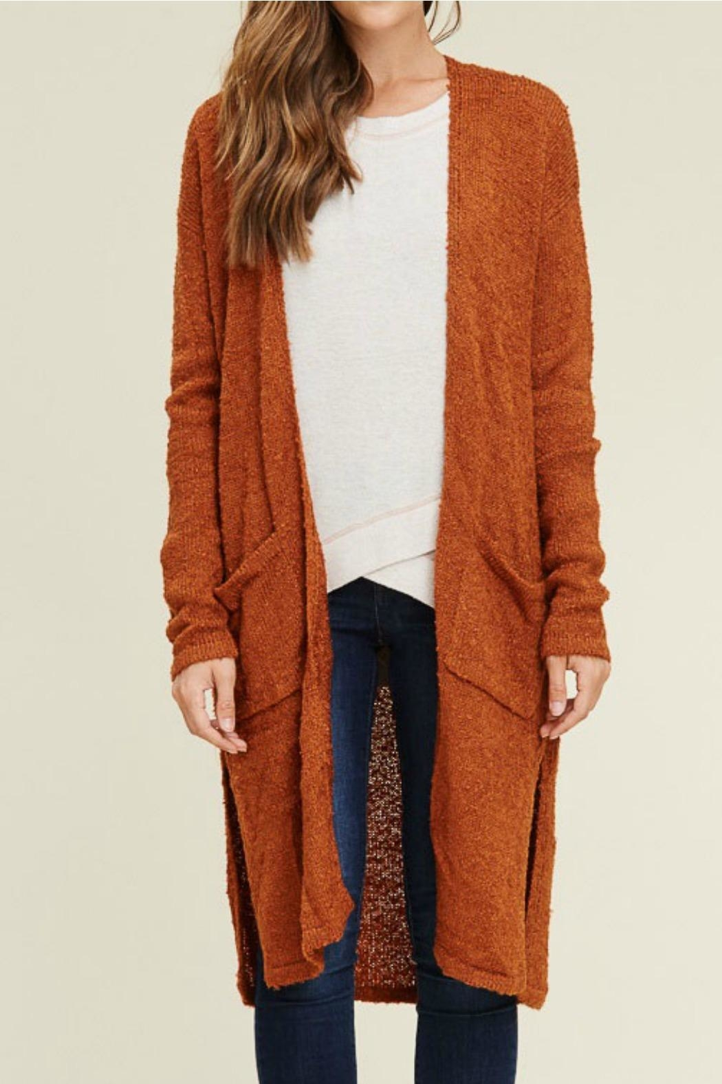 Staccato Long Duster Cardigan - Main Image