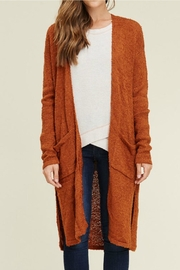 Staccato Long Duster Cardigan - Product Mini Image