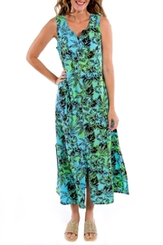 Blue Ginger Long Flair Dress - Product Mini Image