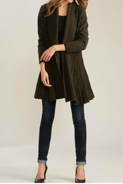 Charlie Paige Long Flared Cardigan - Product List Image