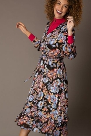 Yest Long Floral and Stripe Dress - Product Mini Image