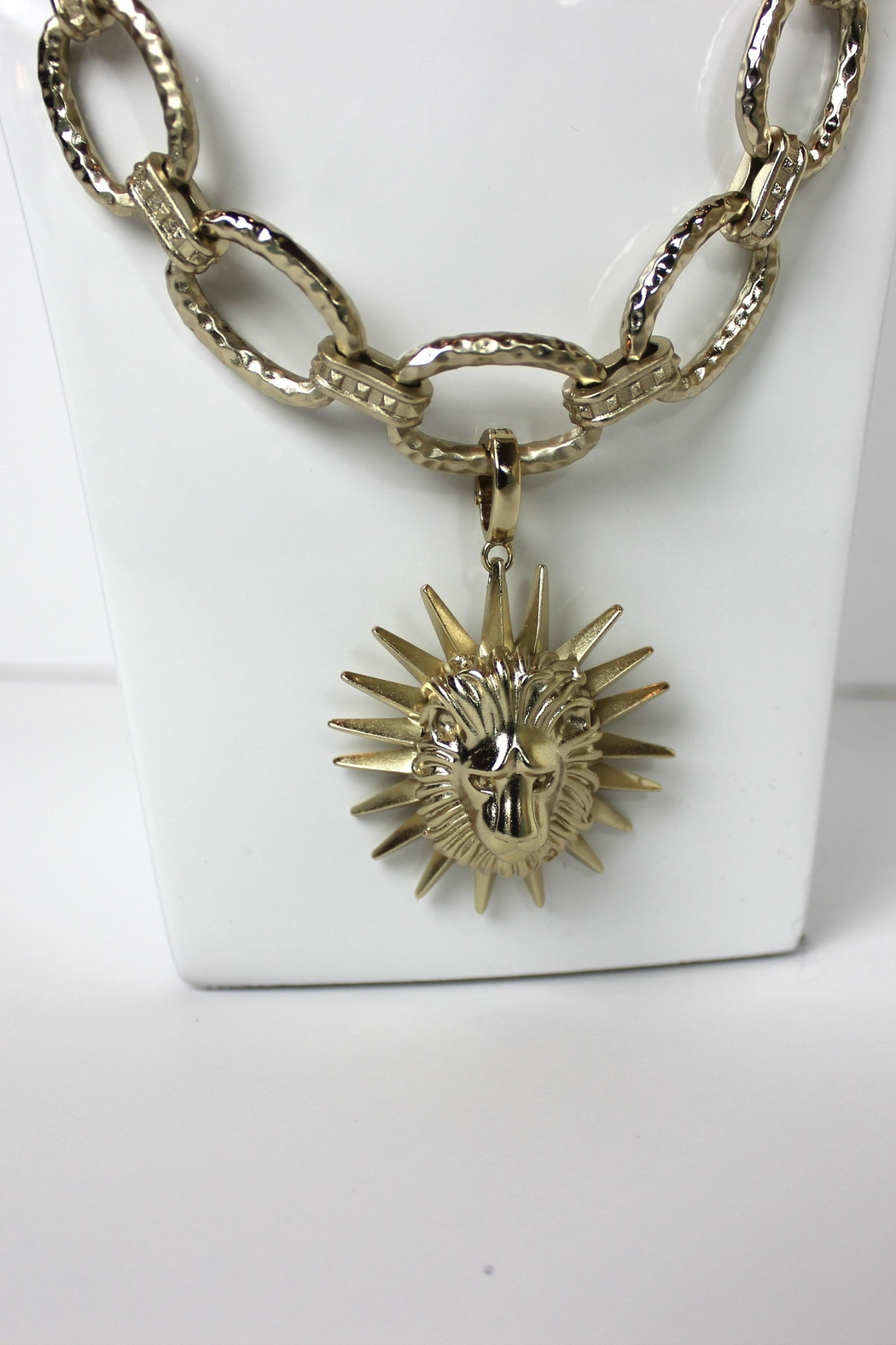 Kendra Scott Long Gold Necklace - Front Full Image