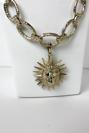 Kendra Scott Long Gold Necklace - Front full body