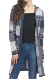 Papillon  Long Hooded Cardi - Side cropped