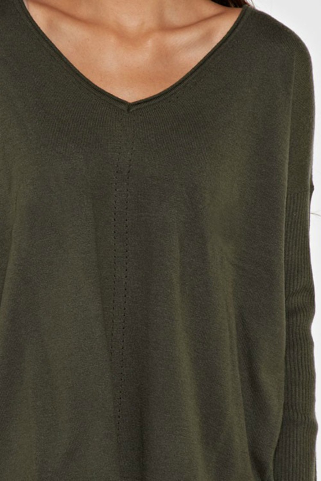 Lovestitch Long Island Sweater - Side Cropped Image