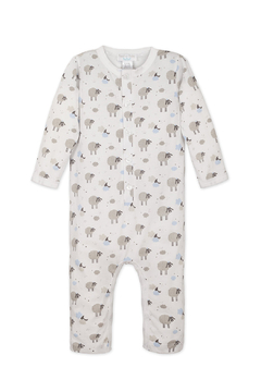 Feather Baby Long John- Sheep - Alternate List Image