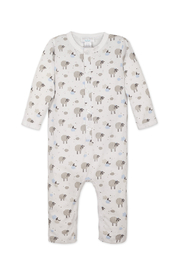 Feather Baby Long John- Sheep - Front cropped