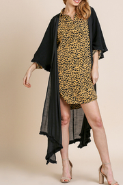 Umgee  Long Kimono with Side Slits - Front full body