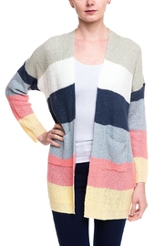 Kayla's Armoire Long Knit Cardigan - Front cropped