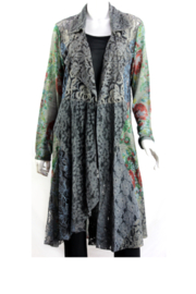 Vintage Concept  Long Lacey Cover-Up - Product Mini Image