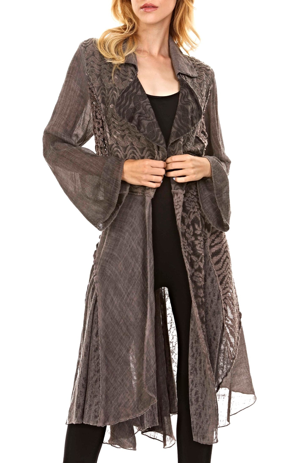 Adore Long Lacey Duster - Main Image
