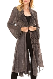 Adore Long Lacey Duster - Product Mini Image