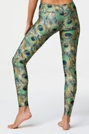 Onzie Long Legging Peacock Green - Side cropped