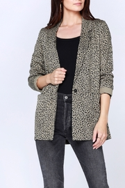 Bobi Los Angeles Long Leopard Blazer - Product Mini Image