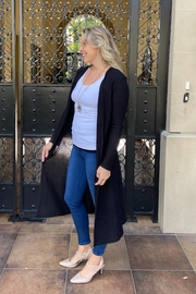 Timing long lightweight cardigan - Front full body