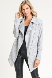 Elegance by Sarah Ruhs Long Moto Jacket - Product Mini Image