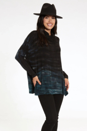 RIVER AND SKY Long Nights Oversized Ombre Poncho Sweater - Side cropped
