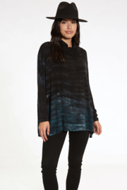 RIVER AND SKY Long Nights Oversized Ombre Poncho Sweater - Front full body